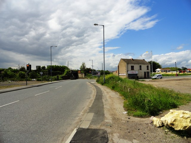 Haverton Hill, looking west