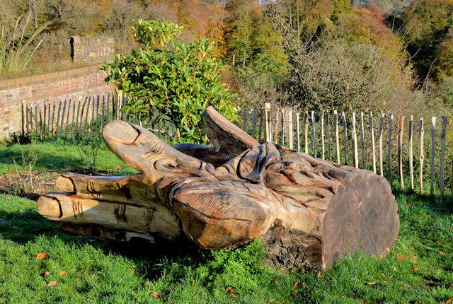 Carving, Terrace Hill, Belfast (4)