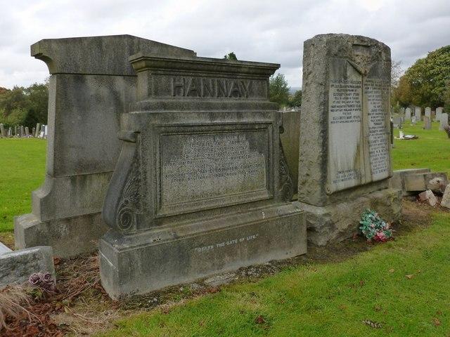 Memorial to William Hay Hannay