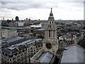TQ3181 : View from St Paul's Cathedral, London, EC2 by Christine Matthews