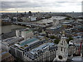 TQ3181 : View from St Paul's Cathedral, London EC2 by Christine Matthews