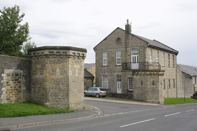 Entrance towers to former barracks, Gallowgate