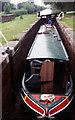 """SJ5344 : 6' 7"""" Deep Povey's Lock Llangollen Canal by Jo Turner"""