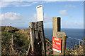 TA1874 : Cliff edge by Pauline E