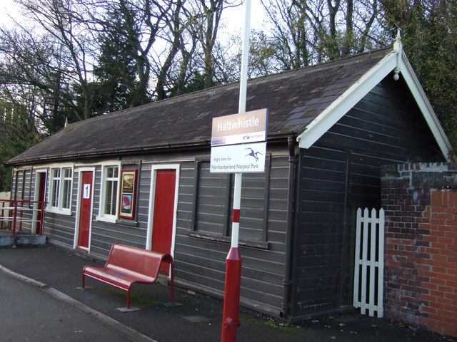 Waiting Room, Platform 1, Haltwhistle Station