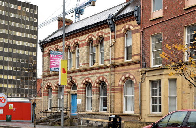 Former Shaftesbury Square Hospital, Belfast