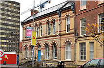 J3373 : Former Shaftesbury Square Hospital, Belfast by Albert Bridge