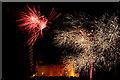 NG2449 : Fireworks at Dunvegan Castle by John Allan