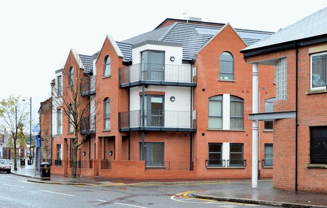 Albion Street Housing Site Belfast 9