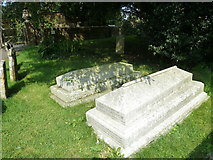 SY7190 : St Michael, Stinsford: Hardy family grave (1) by Basher Eyre