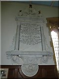 SY7190 : St Michael, Stinsford: memorial (III) by Basher Eyre