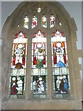 SY7190 : St Michael, Stinsford: window (G) by Basher Eyre