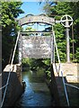 SP0579 : Stratford-on-Avon Canal: Kings Norton Guillotine Lock (1) by Nigel Cox