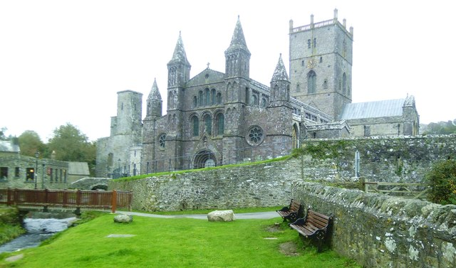 St Davids Cathedral, west front