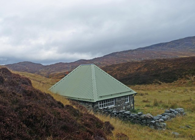 Blackburn Bothy, by the Corrieyairack Pass, Inverness-shire