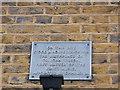 TR0161 : Plaque on Abbey Street House, Faversham by David Anstiss