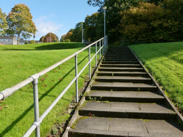 Steps leading up to Nobleston