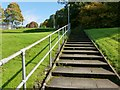 NS3978 : Steps leading up to Nobleston by Lairich Rig