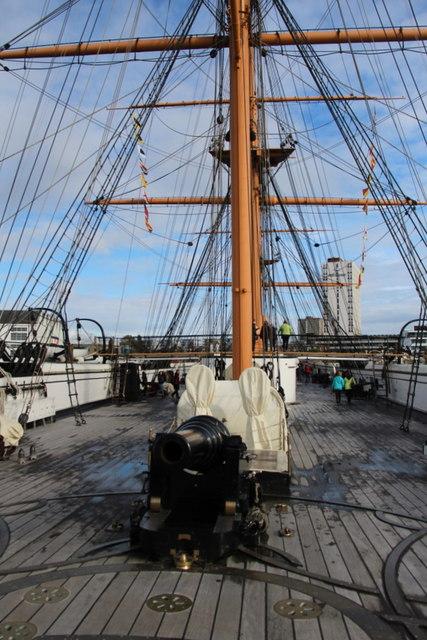 HMS Warrior, Portsmouth, Hampshire