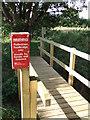 TL5948 : New Footbridge by Keith Evans