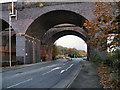 SJ8581 : Rail Bridge, Wilmslow by David Dixon