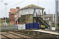 NU1827 : Chathill Signalbox by roger geach