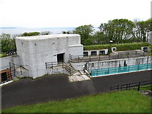 J4583 : Gun Emplacement 2 at Grey Point Fort by Eric Jones