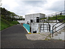 J4583 : Bunkers and Gun Emplacement 2 at Grey Point Battery by Eric Jones