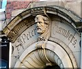 SJ8990 : Entrance detail: St Peter's Chambers by Gerald England