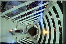SZ6299 : Inside the Spinnaker Tower, Portsmouth, Hampshire by Christine Matthews