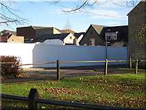 TL4658 : Fenced off area by Hugh Venables