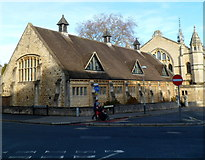 SO9422 : SE corner of Cheltenham Ladies' College by Jaggery