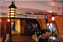 SU6200 : Interior HMS Victory, Portsmouth Historic Dockyard, Hampshire by Christine Matthews