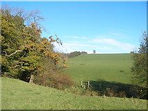 SE2746 : Footpath towards Wescoe Hill Lane by John Slater