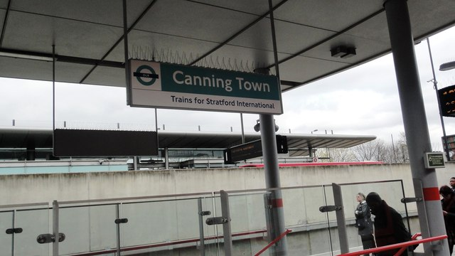 Canning Town DLR station