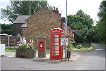 TQ9293 : K6 Telephone Kiosk, Paglesham by N Chadwick