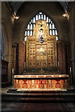 SK9136 : Altar and reredos, St Wulfram's church, Grantham by J.Hannan-Briggs