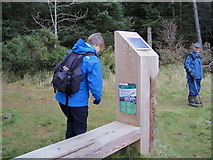 NT2840 : Talking sign, Falla Brae by Jim Barton