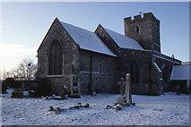TQ5380 : Wennington church by Christopher Hilton