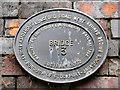 SJ8894 : Bridge 13 plaque by David Dixon