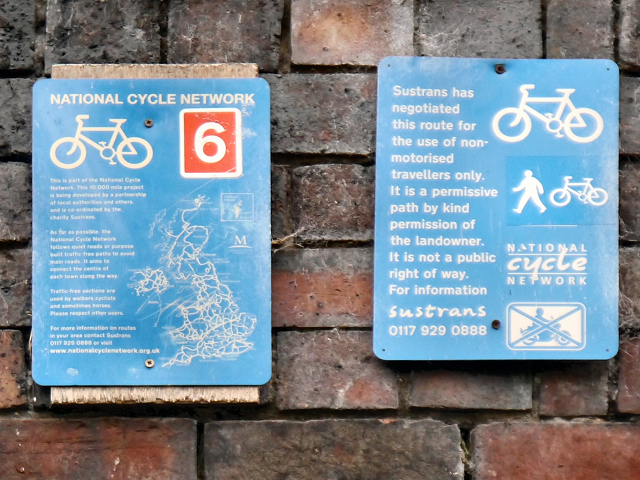 National Cycle Network Signs