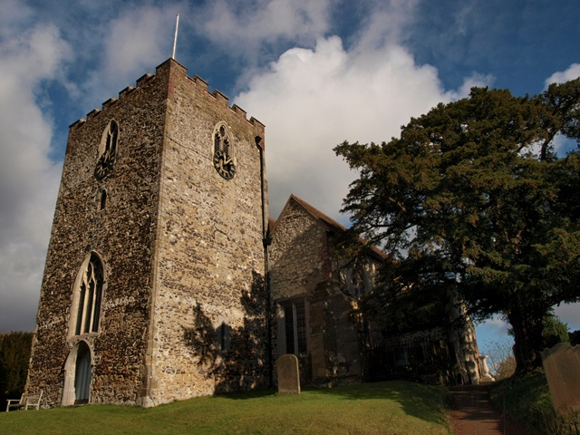 St. Mary's Church at Oxted