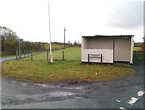H5575 : Bus shelter, Altdrumman by Kenneth  Allen