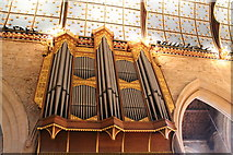 SK9136 : Organ in St Wulfram's church, Grantham by J.Hannan-Briggs
