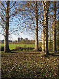 SO8454 : View to St Johns tower flats by Philip Halling