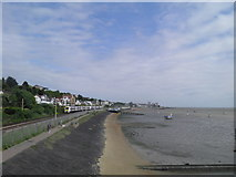 TQ8485 : Promenade between Leigh-on-Sea and Chalkwell by Jo Kibble