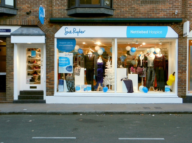 The Sue Ryder Charity Shop, Duke Street, Henley on Thames by Roger A Smith