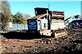 ST5972 : Demolition machine, Feeder Road, Bristol by Jaggery