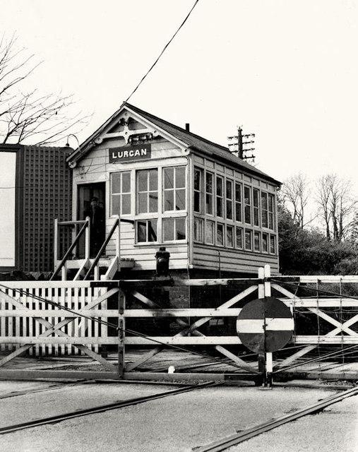 Lurgan signal cabin