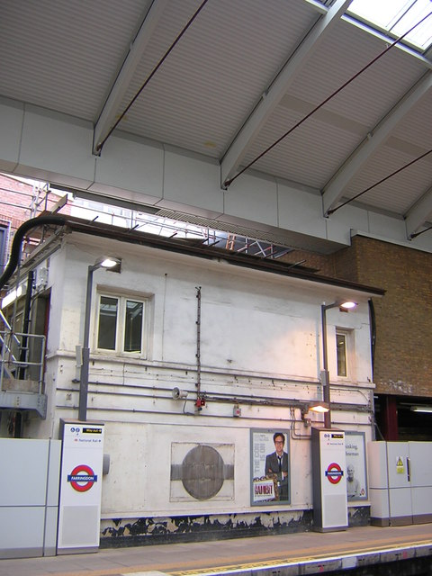 Farringdon station: former signal box